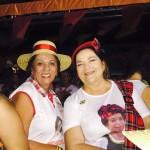 Rosalba e Sandra, primas sorridentes, adversárias ainda com um fosso as separando (Foto:Web)