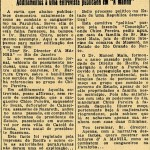Jornal carioca A Manhã, edição de 2 de junho de 1926 (Foto: reprodução)