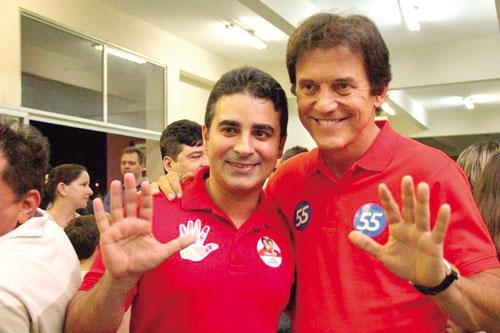 Franacisco José e Robinson: vácuo na relação e situação vexatória para ambos (Foto: Web)