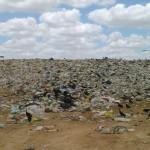 Urubus são ocupantes do lixão que tem apelido de Aterro Sanitário em Mossoró e é ignorado quanto a perigo que representa (Foto: Blog Carlos Santos)