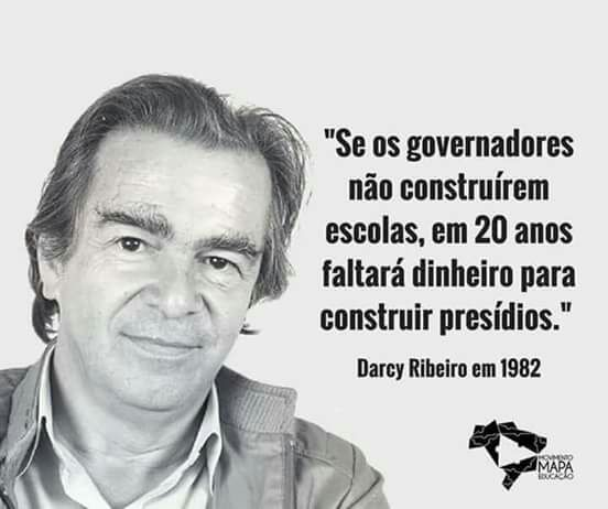 Darcy Ribeiro Estava Certo