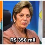 Robinson, Rosalba e Fábio tiveram valores de apoio em 2010 revelados em abril; os três negaram (Foto: arquivo)
