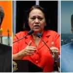 Robinson Faria, Fátima Bezerra e Carlos Eduardo se movimentam para disputa ao governo neste ano (Foto: arquivo)