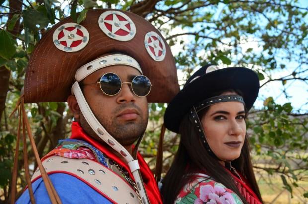 Karl e Sara compõem produção audiovisual que faz difusão da cultura nordestina (Foto: divulgação)