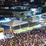 Camarote da Prefeitura Municipal de Mossoró e da TCM-Bets no show do Solteirões do Forró - sábado 09-06-18