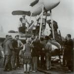 O avião decolou de Montecelio, comuna italiana da região do Lácio, província de Roma, e pousou na a pequena cidade de Touros, a cerca de 80 quilômetros de Natal, no Rio Grande do Norte - Arquivo Rostand Medeiros