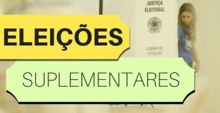 Eleições suplementares - TRE - 03-06-18