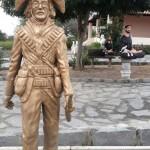 Estátua está no Museu do Cangaço de Serra Talhada em Pernambuco (Foto: Museu)