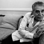 O escritor Gabriel García Márquez durante uma entrevista em 1990 (Foto: Raúl Cancio)