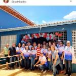 Rosalba, no centro, posa com Larissa bem à sua esquerda em postagem da ex-deputada (Reprodução BCS)