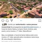 Postagem do Mossoró Hoje conseguiu o feito de trazer à tona a prefeita Rosalba, que sempre evita temas delicados (reprodução)
