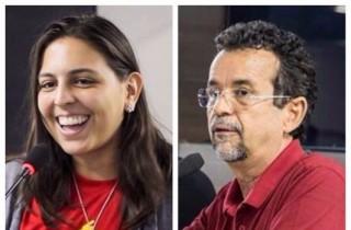 Natália e Mineiro: nomes de 2018 (Fotomontagem Potiguar Notícias)