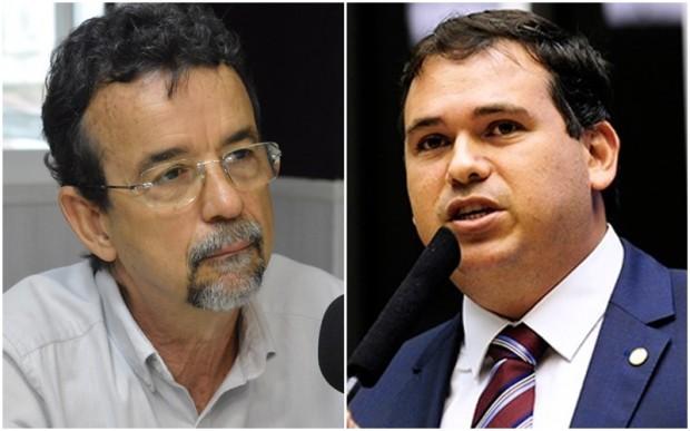 Mineiro foi mais votado do que Beto Rosado nas eleições de 2018 e votos de Kerinho são o xis da questão (Fotos: José Alderir e Câmara dos Deputados)