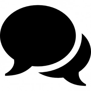 Fala, balão de fala, diálogo