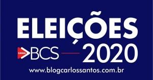 Blog Carlos Santos - Selo 1 - Original - Eleições 2020