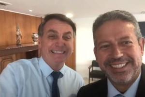 Bolsonaro apoio Lira (Foto: Web)
