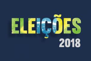 Eleições 2018 - Selo do Blog Carlos Santos