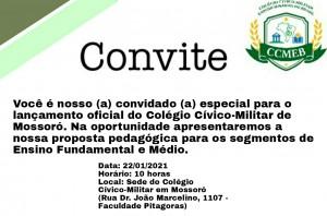 Escola Cìvico-Militar Expedicionários do Brasil de Mossoró - apresentação 22-01-21