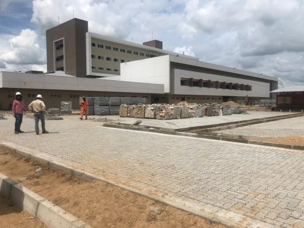 Construção de hospital deve ensejar inauguração ainda esse ano no Ceará (Foto: autor)