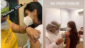 Filhas de empresários comemoraram vacinação, mesmo sem terem cadastrado definido para atendimento (Foto: UOL)