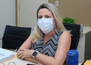 Morgana é titular da Saúde (Foto: PMM/arquivo)