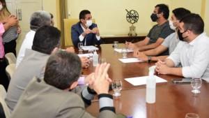 Empresários oficializaram informação ao prefeito (Foto: divulgação)