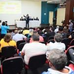 Secretários fizeram apresentação hoje pela manhã, de dados coletados de fontes oficiais (Foto: PMM)