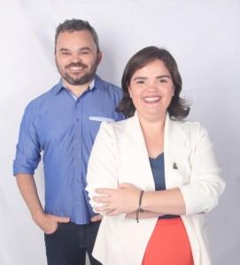 Chico e Cicília: chapa pronta (Foto: divulgação)