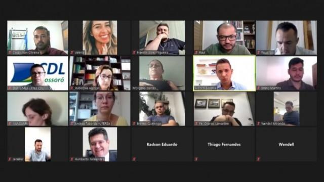 Comitê teve reunião virtual nesse sábado para tomada de posição (Foto: PMM)