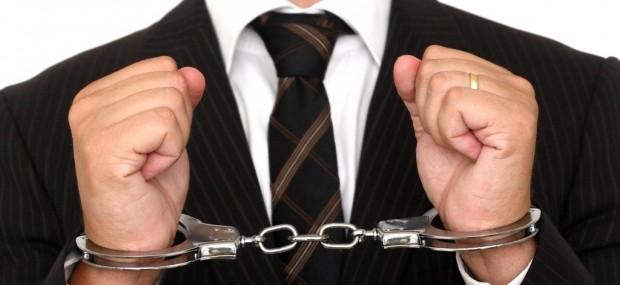 Crime do colarinho branco, impunidade, prisão, algemas, corrupção