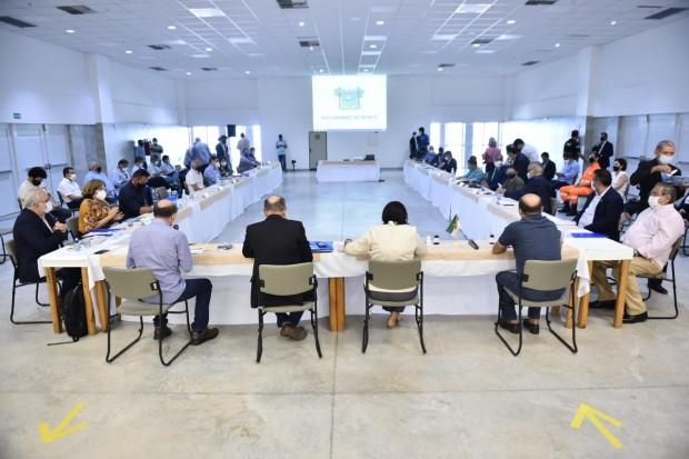 Reunião hoje definiu prioridades que exigem união da bancada (Foto: Elisa Elsie)