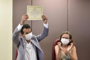 Mineiro já foi diplomado no TRE/RN (Foto: Saiba Mais)