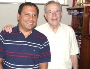 Manoel Severo e Antônio Amaury em 2012 (Foto: arquivo)