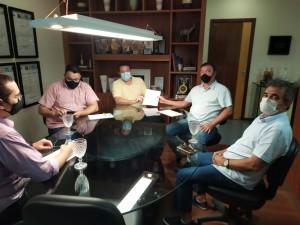 Conselho e Benjamim tiveram reunião decisiva (Foto: ACDP)