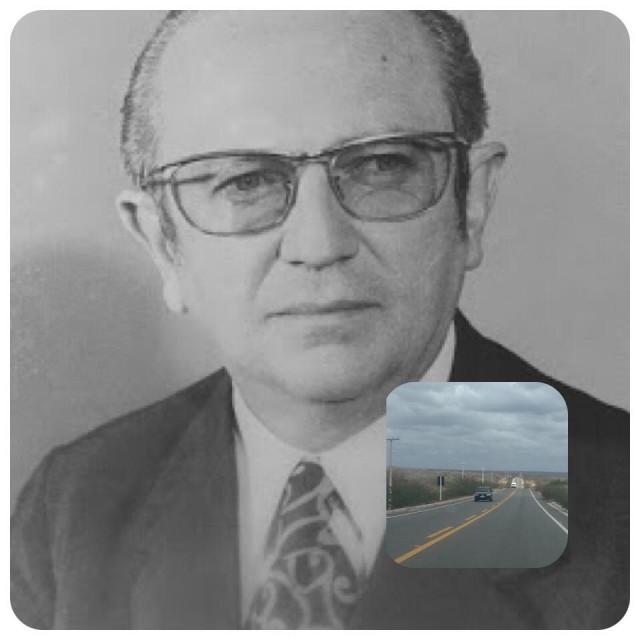 Estrada da Castanha é importante trecho rodoviário e pode lembrar nome pouco lembrado de Cortez Pereira (Fotomontagem BCS)