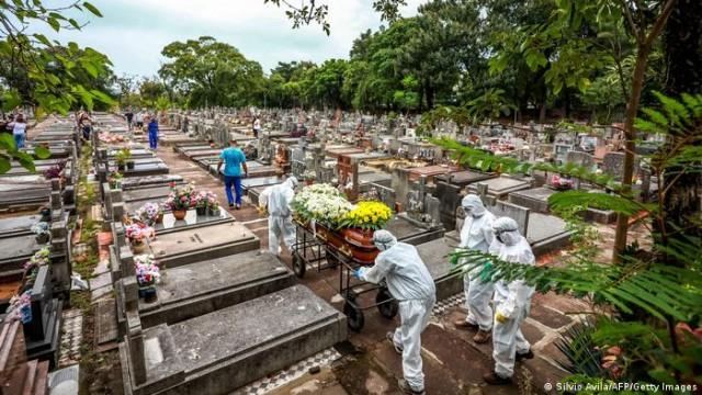 Brasil dispara em termos de mortes no mundo, numa dianteira assustadora (Foto: Sílvio Ávila)