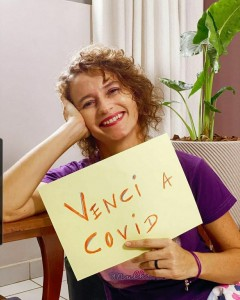 Isolda venceu a Covid-19 (Foto: redes sociais)