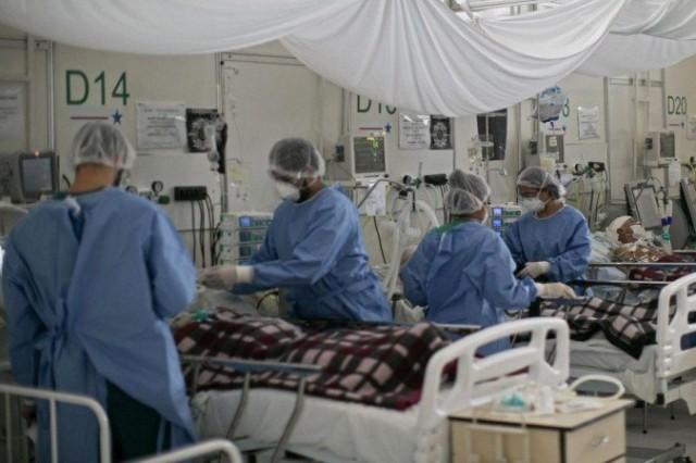 Esgotamento de leitos em UTI e número crescente nas enfermarias sufocam sistema (Foto ilustrativa)