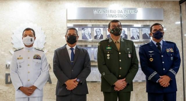 Novos ministros foram apresentados nessa quarta-feira em Brasília (Foto: O Globo)