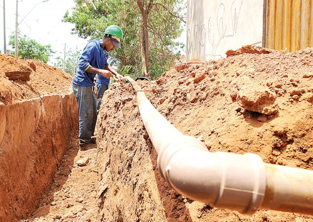Saneamento básico faz parte de uma pauta diversificada em termos de meio ambiente (Foto ilustrativa)