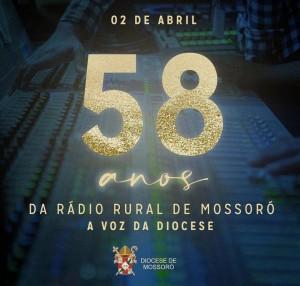 58 anos da Rádio Rural de Mossoró - 2 de Abril de 2021