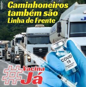Caminhoneiros pedem prioridade em vacinação contra Covid-19 - 04-04-21 - Caminhoneiros da Luz,