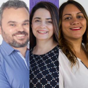 Francisco, Kelânia e Maria José são nomes a vice (Foto: divulgação)