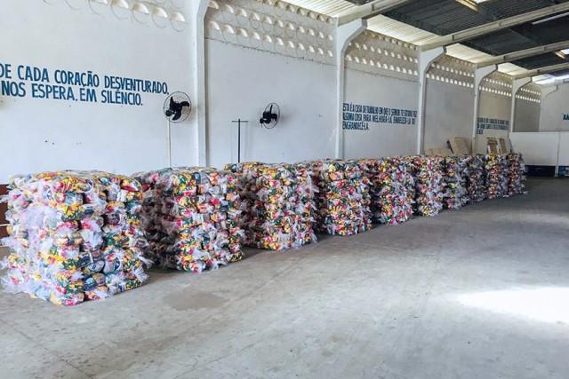 Cestas fazem parte de uma iniciativa com alcance ainda maior, chegando a hospitais (Foto: divulgação)
