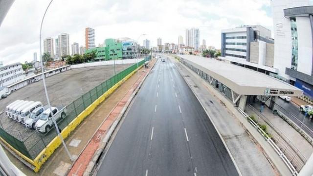 Fortaleza está com regime de bloqueio rígido desde o começo de março e vai continuar (Foto: DN)