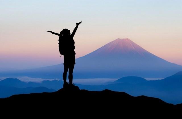 Montanha, no topo, vitória, êxito, sucesso, não desistir, persistência