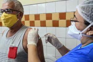 Vacinação avançou nas faixas etárias (Foto: PMM)