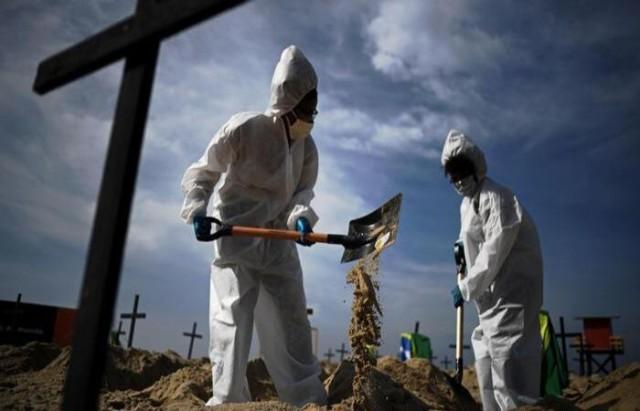 sepultamento de morto pela Covid-19 - Diário de Pernambuco - foto ilustrativa