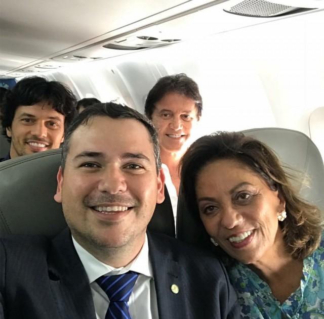 Fábio, Robinson, Beto e Rosalba podem se misturar no mesmo partido (Foto: arquivo/ 13 de junho de 2018)