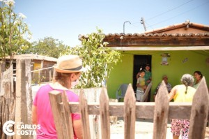 Na campanha de 2020, a prefeita reapareceu na zona rural; mas foi tarde demais (Foto Carlos Costa)